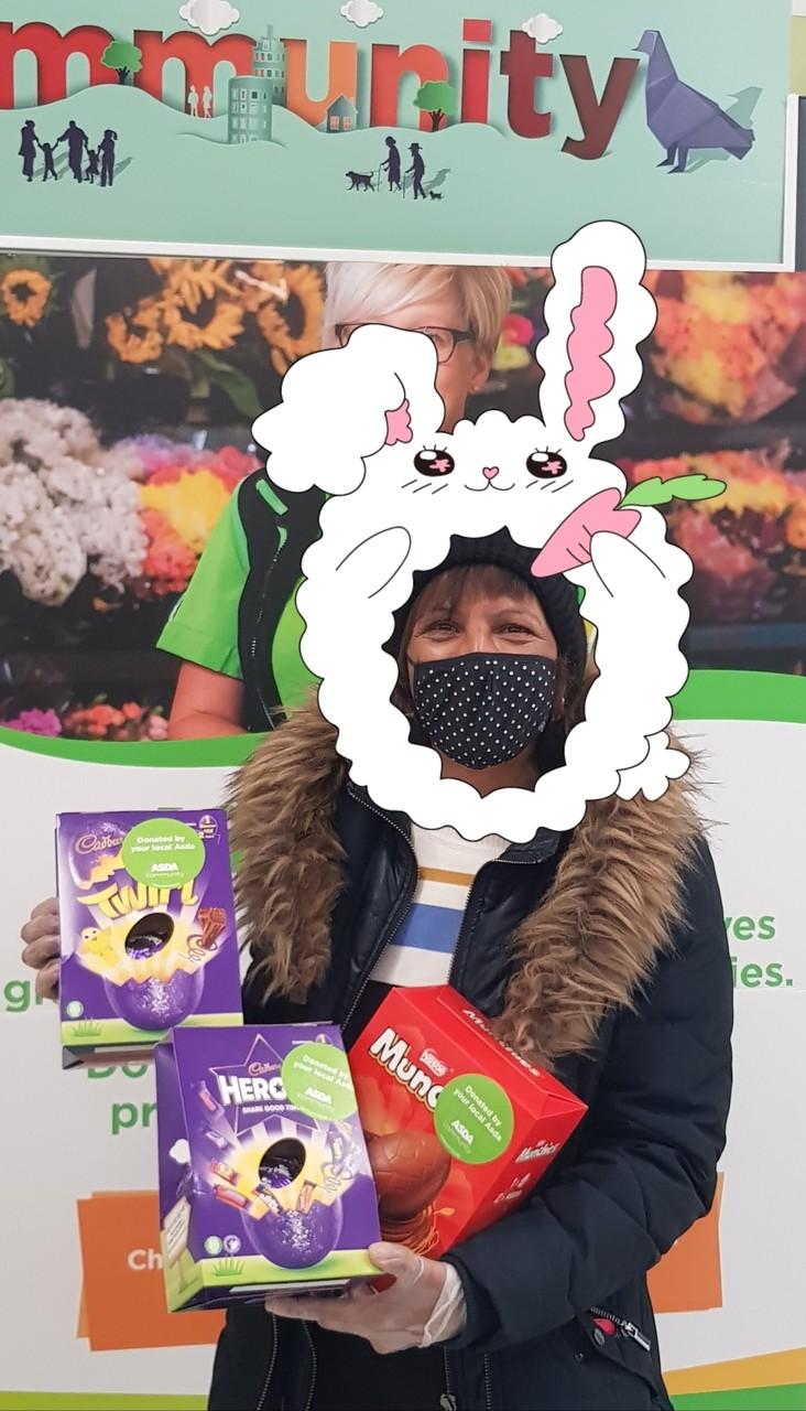 Easter Bunny Christine | Asda Small Heath