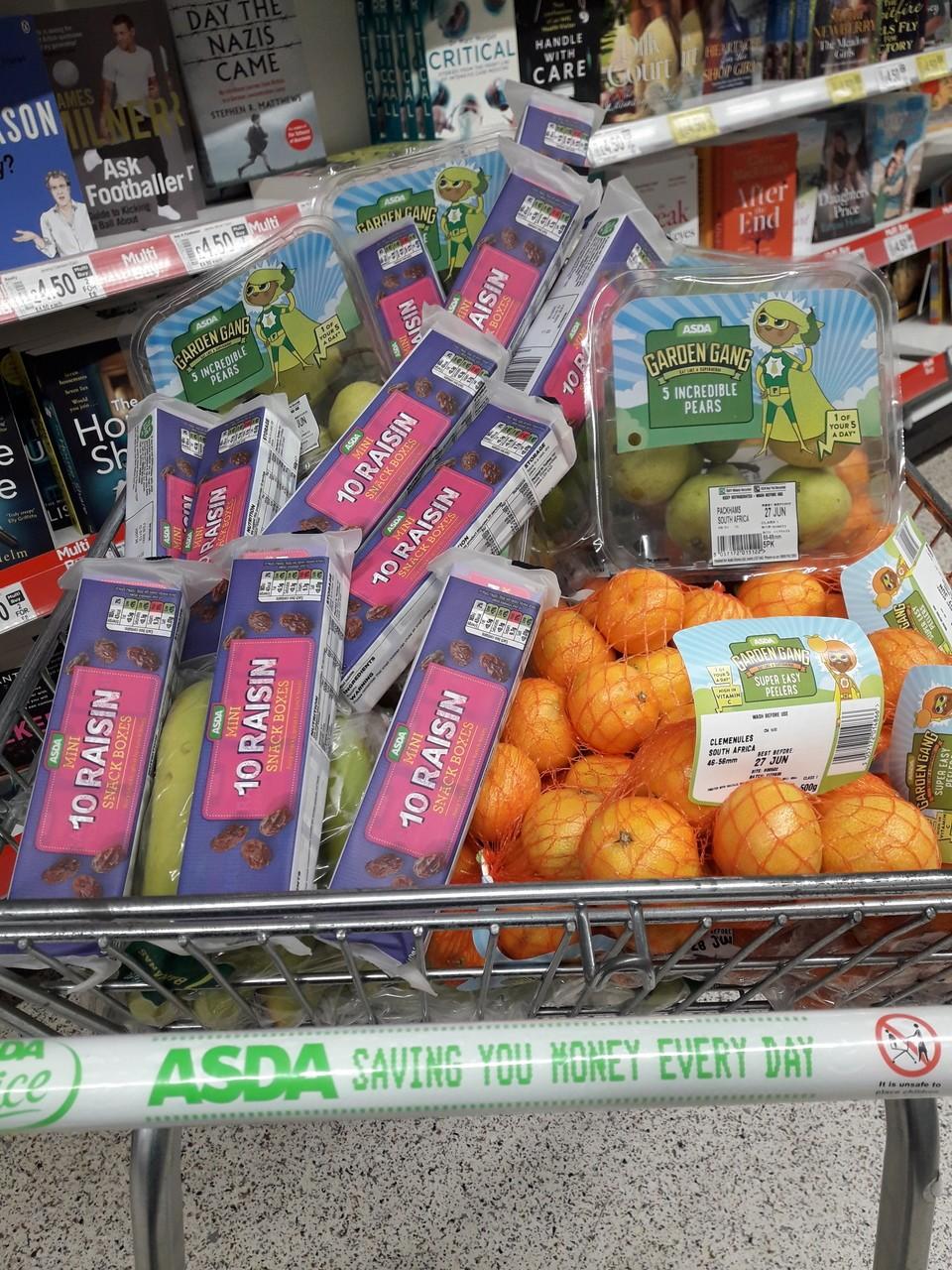 Donation to Owler Brook Primary School | Asda Chapeltown
