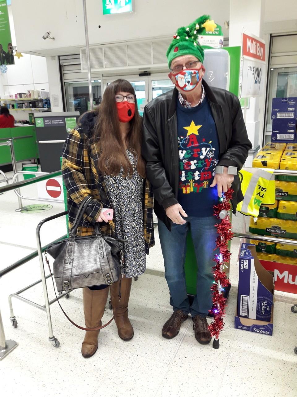 Customers bring Christmas cheer to Asda Chatham | Asda Chatham