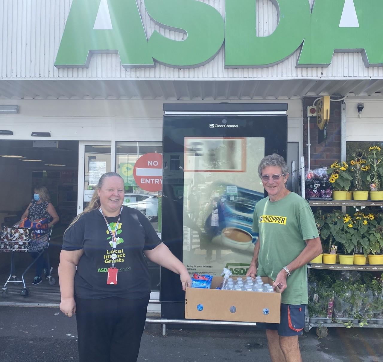 Donation to Friends of Stokes Bay | Asda Gosport