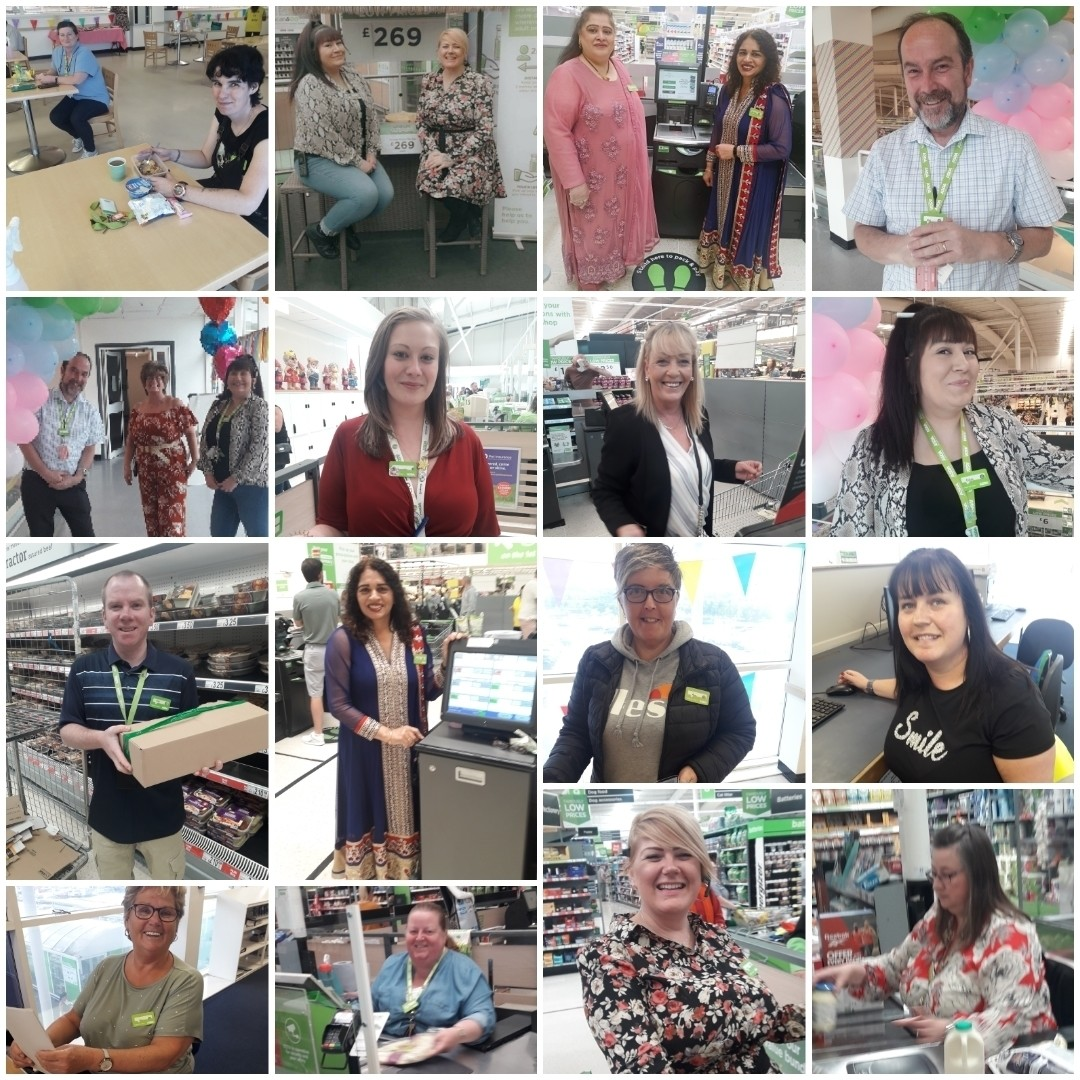Thank You Week celebrations at Asda Gateshead | Asda Gateshead