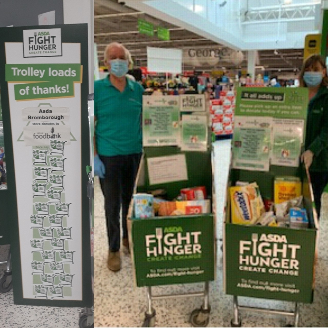 Fight Hunger Create Change with Wirral Foodbank | Asda Bromborough