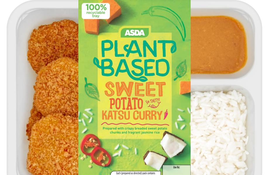Asda vegan plant based katsu curry