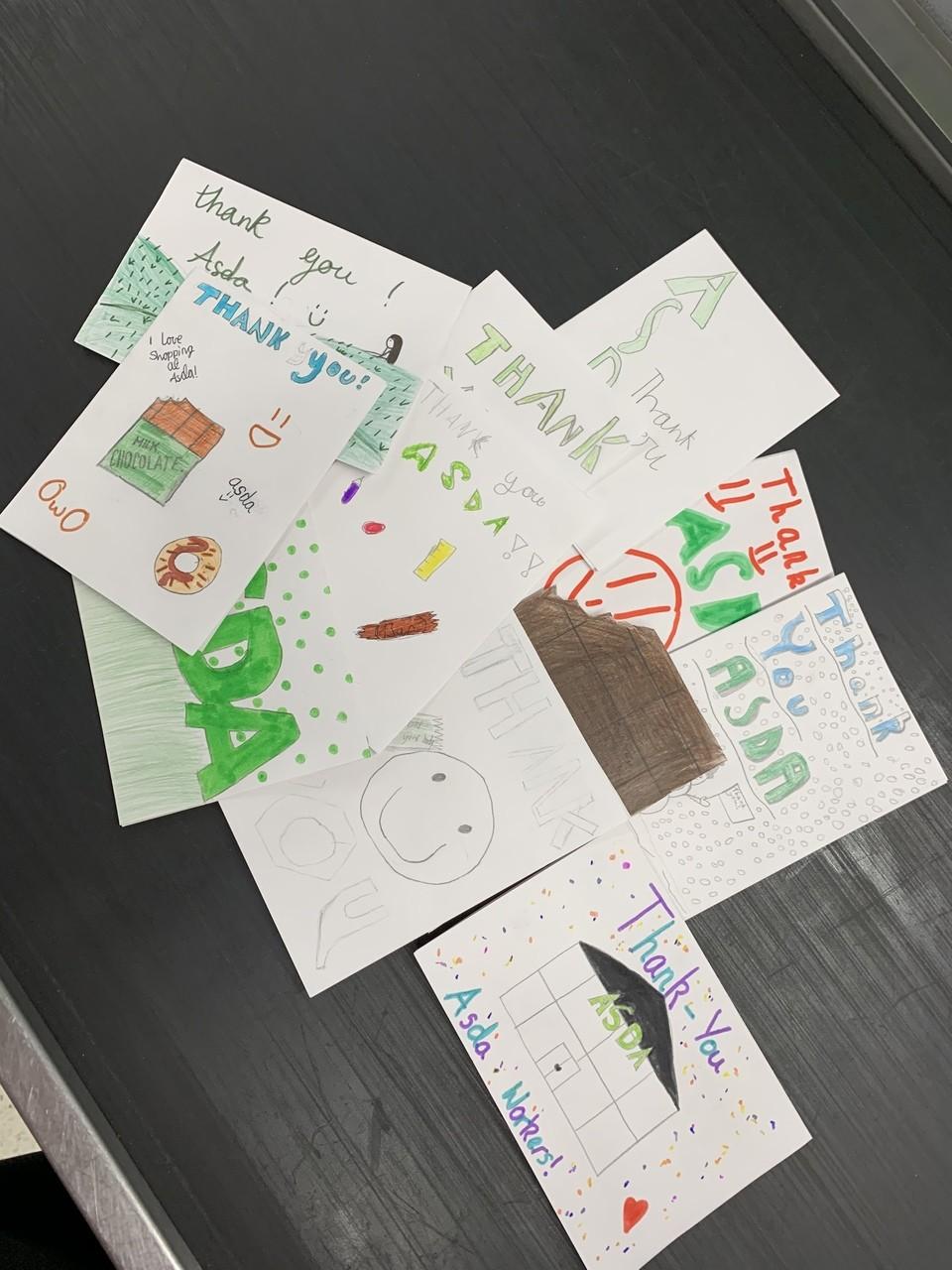 Thank you cards ❤️ | Asda Tain