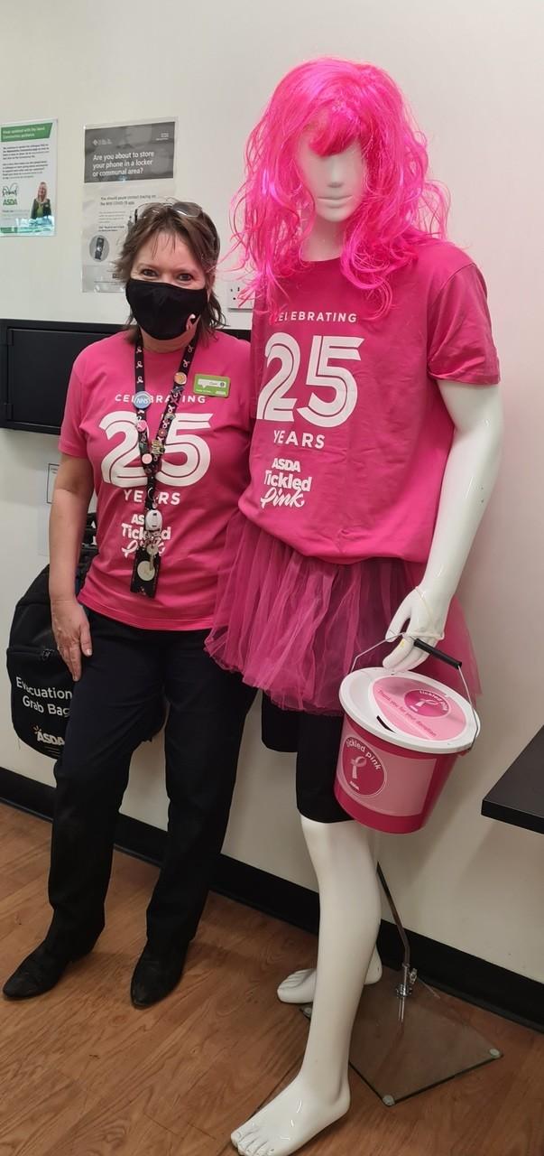 Meet Mr Pink   Asda Newport Isle of Wight