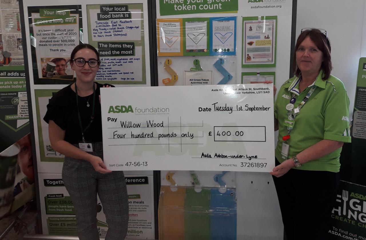 Willow Wood Hospice help | Asda Ashton