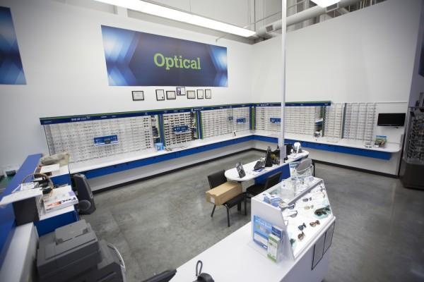 Sam's Club optical lab