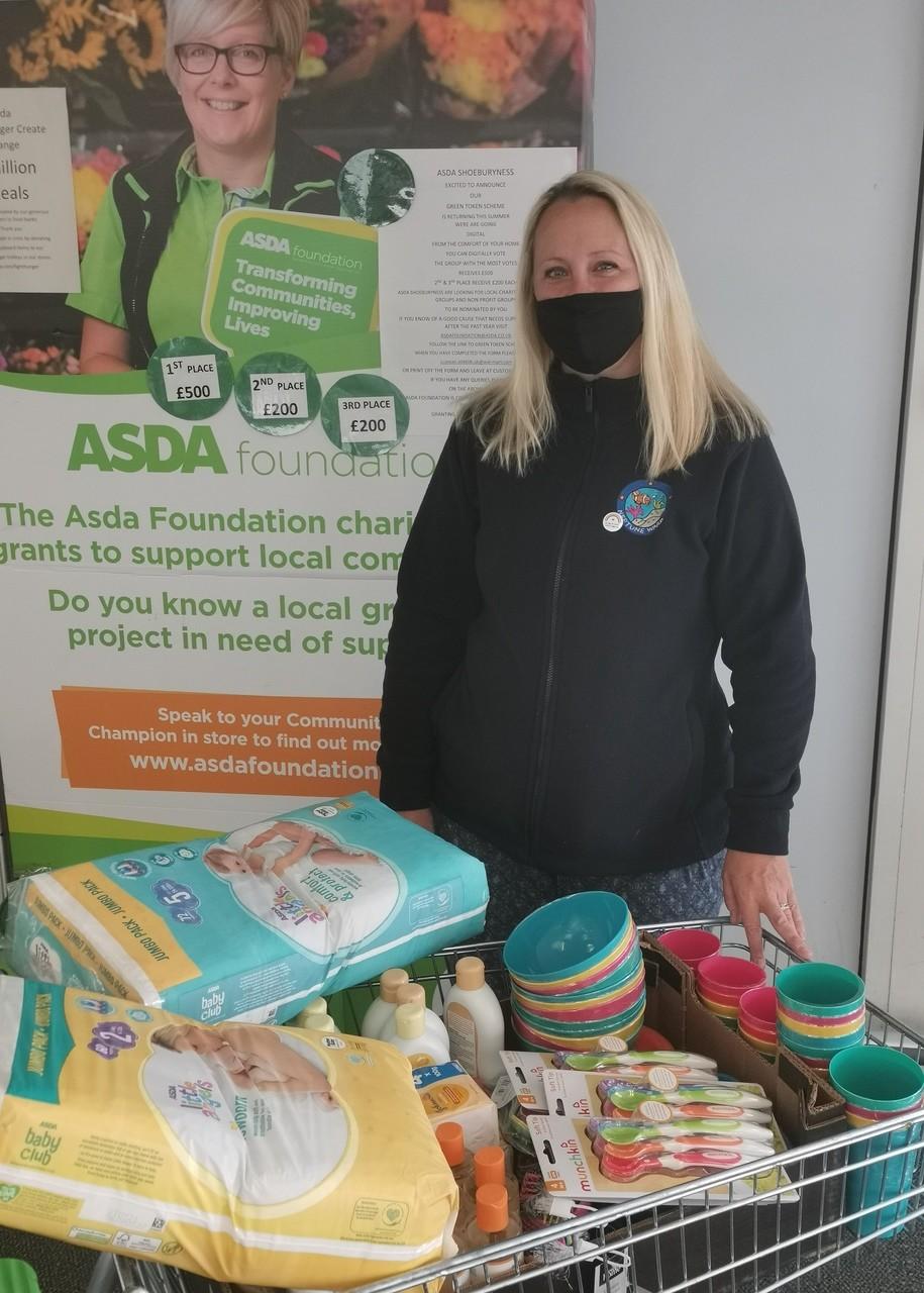 Neptune Ward donation | Asda Shoebury