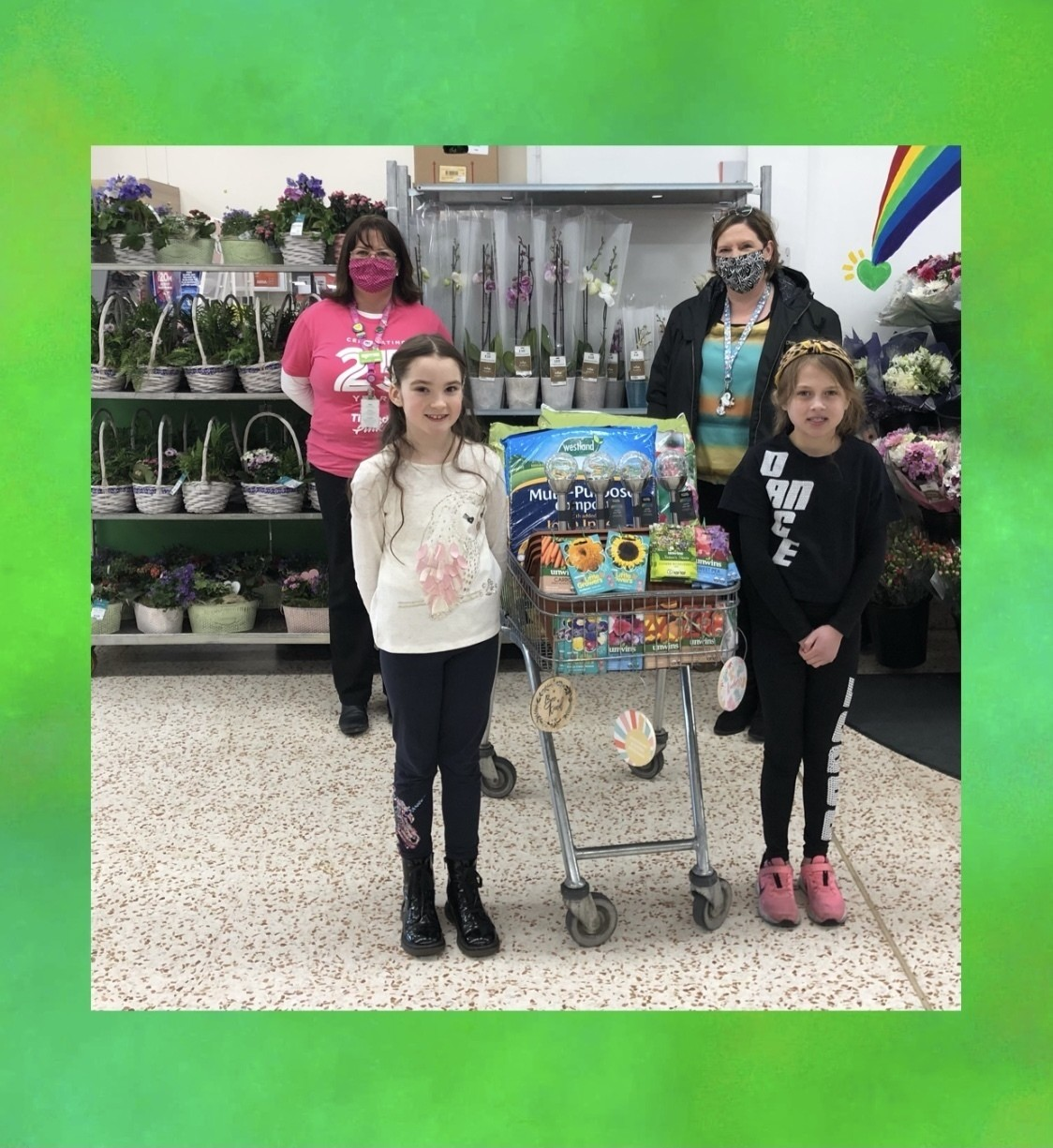 St Mccartan's PS donation | Asda Downpatrick