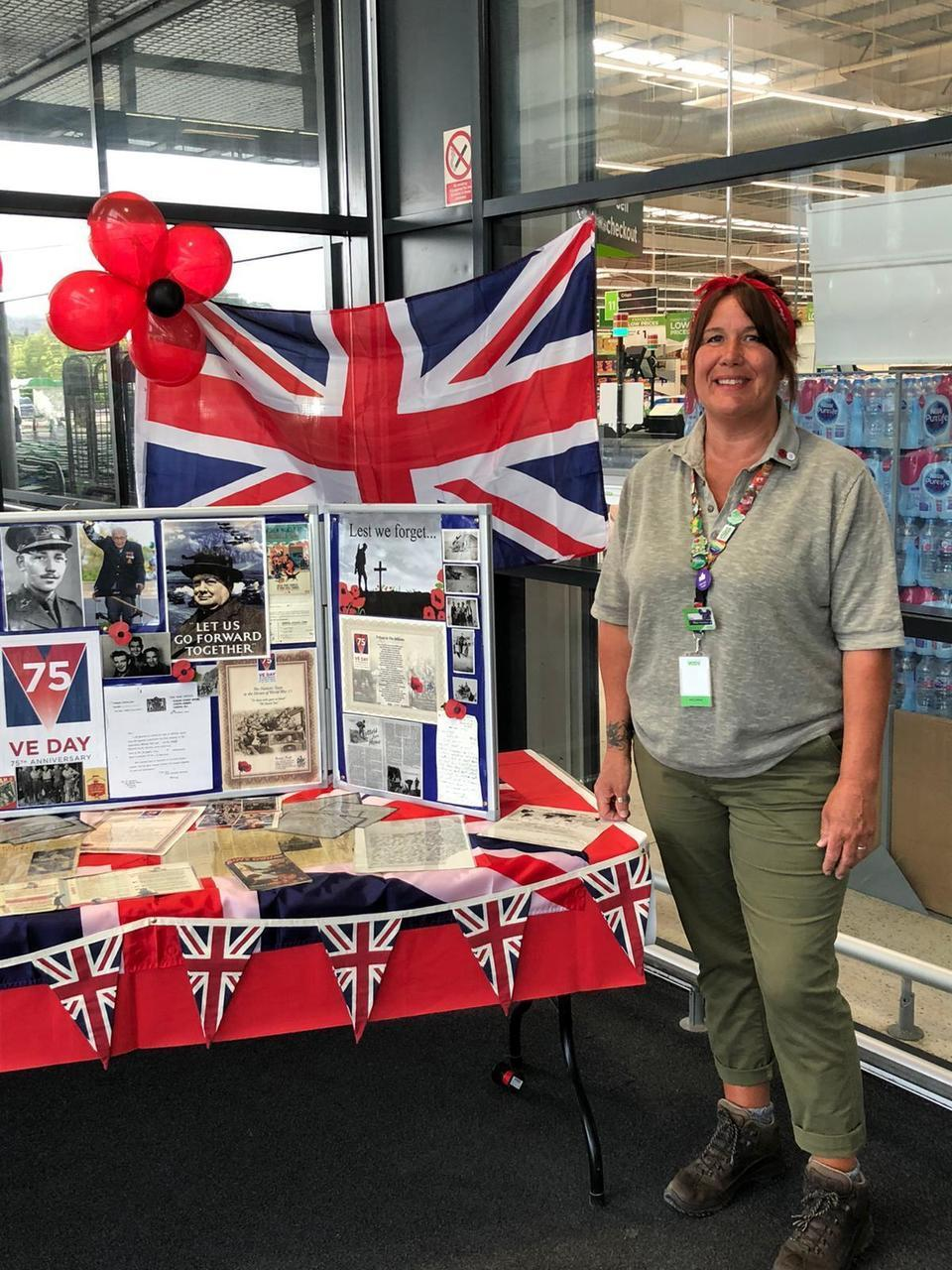 VE Day celebrations and remembrance in stor | Asda Swindon Haydon