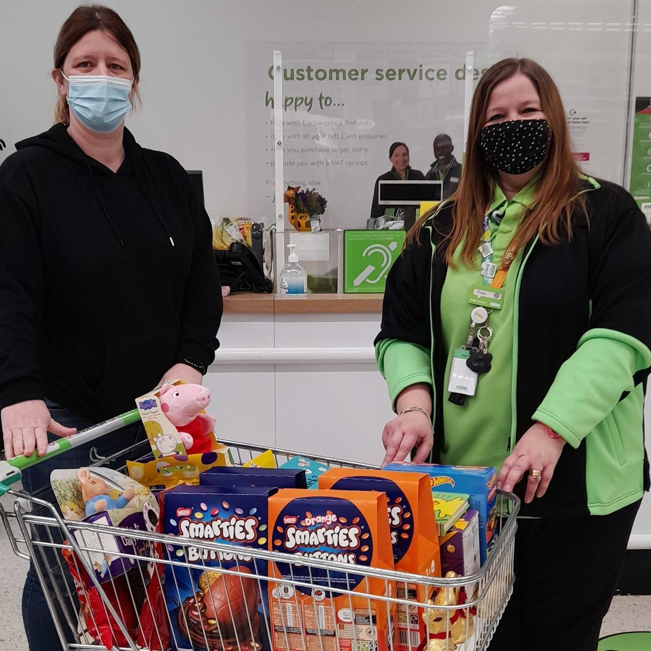 Easter treats for charity | Asda Lincoln North Hykeham