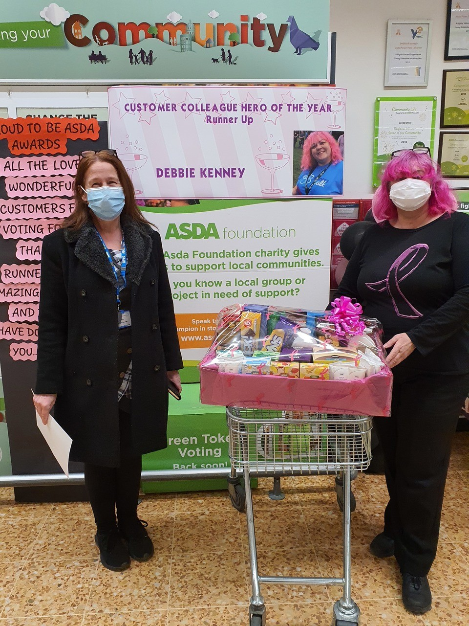 Goodies for the Covid wards | Asda Leicester