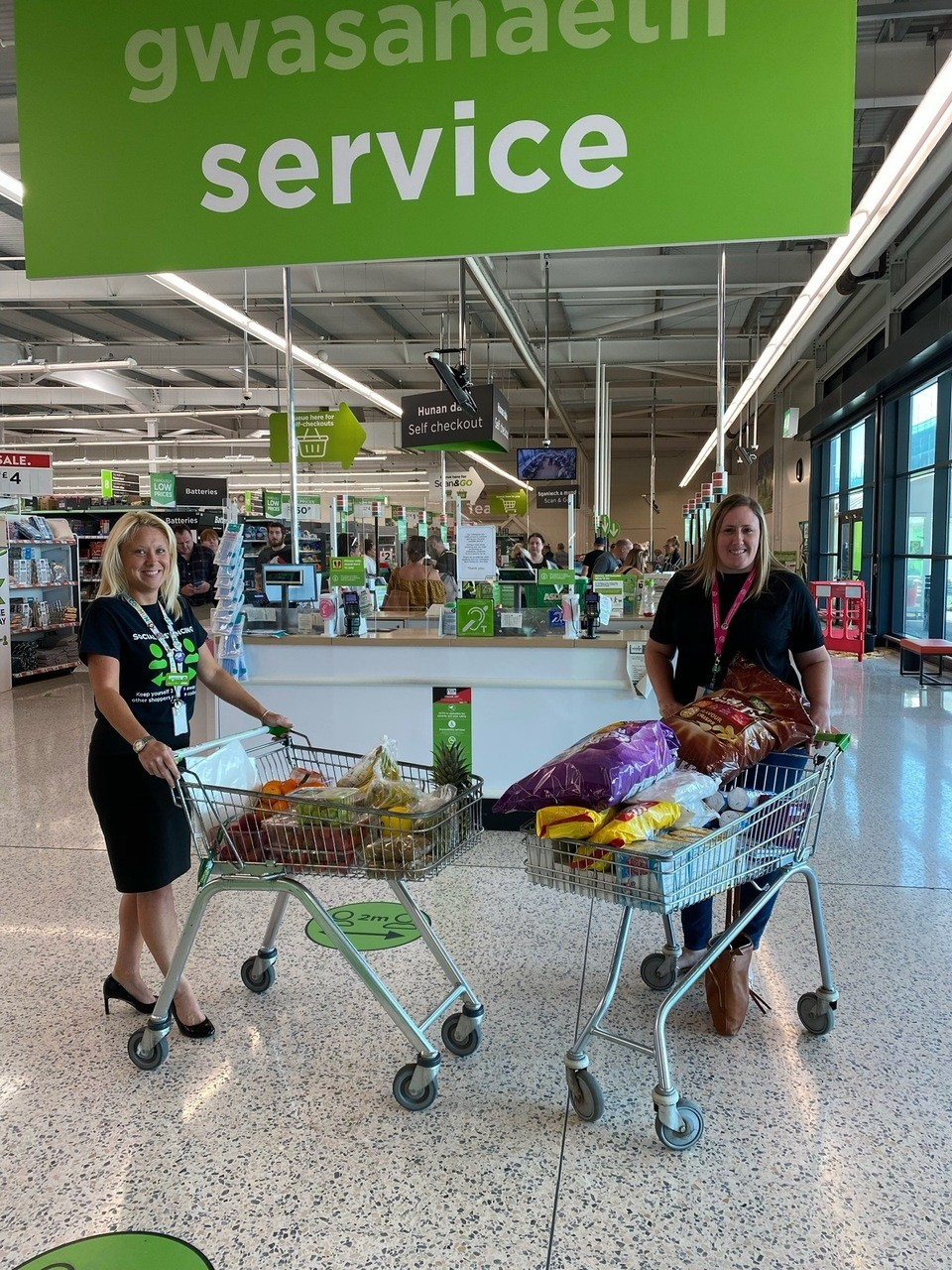 Donation to our local hospital | Asda Barry
