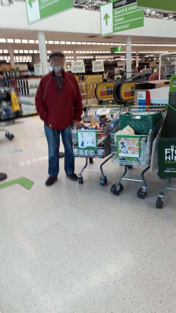 Donation to food bank | Asda Queslett