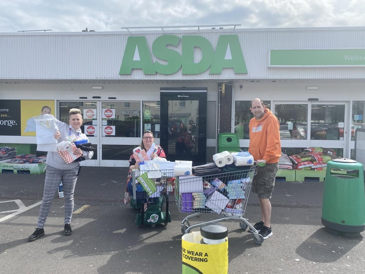 Grant donation | Asda Gosport