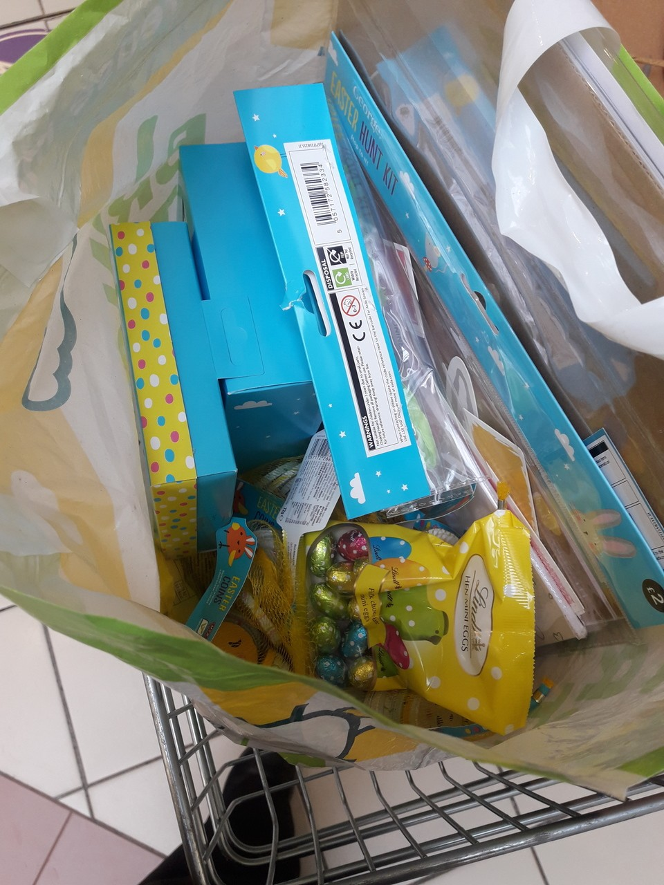 Easter goody bags  | Asda Perry Barr
