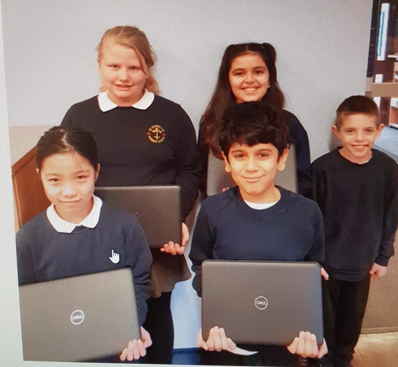 Laptop donation | Asda Pilsworth