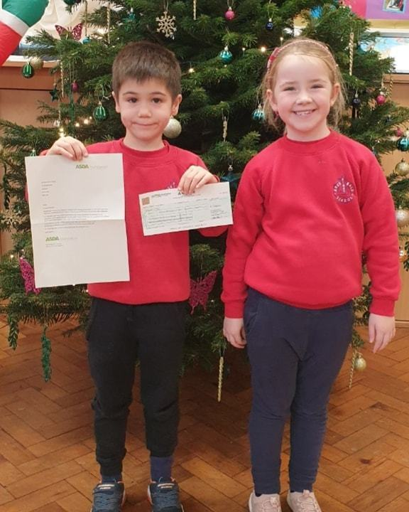 Local school receives £1,000 from the Asda Foundation | Asda Gosforth
