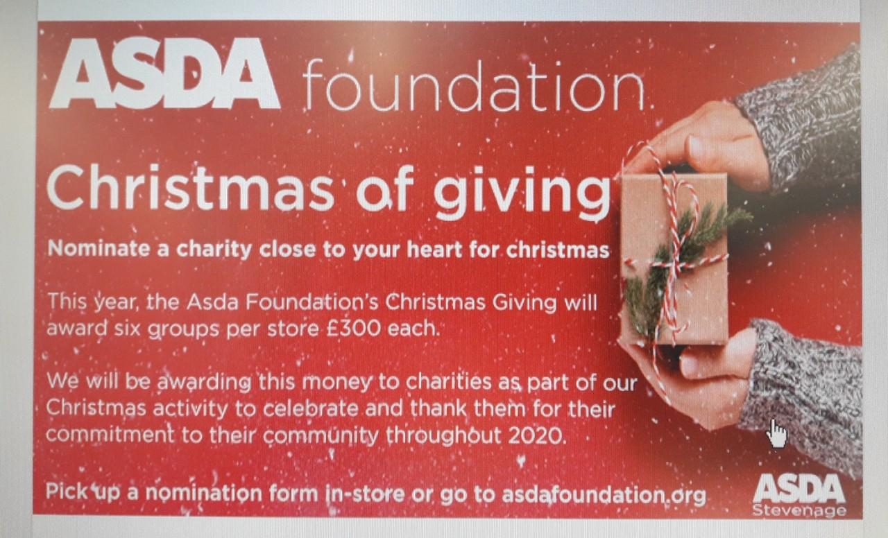 Christmas Giving | Asda Rawtenstall