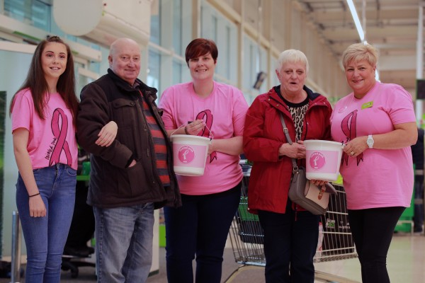 Asda Antrim supports the Asda Tickled Pink breast cancer charity campaign