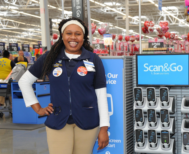 Walmart Supercenter reinvention test store Scan & Go