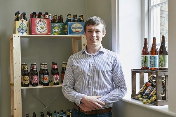 Asda craft beer buyer Hywel Evans