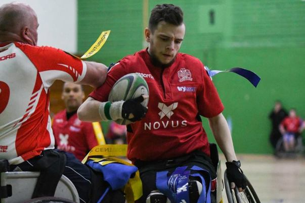 Asda Wrexham colleague Harry Jones plays wheelchair rugby for Wales