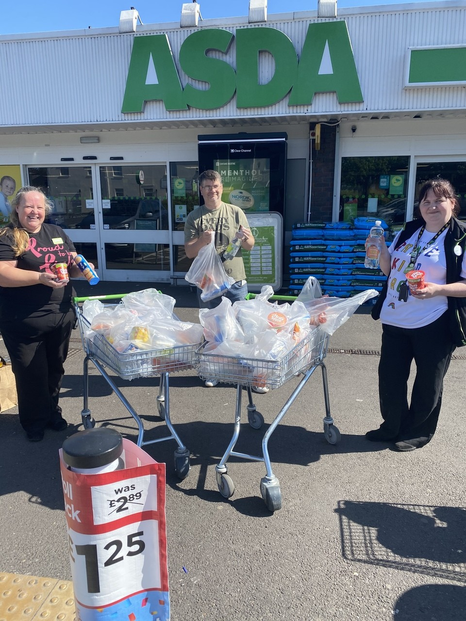 Helping the homeless | Asda Gosport