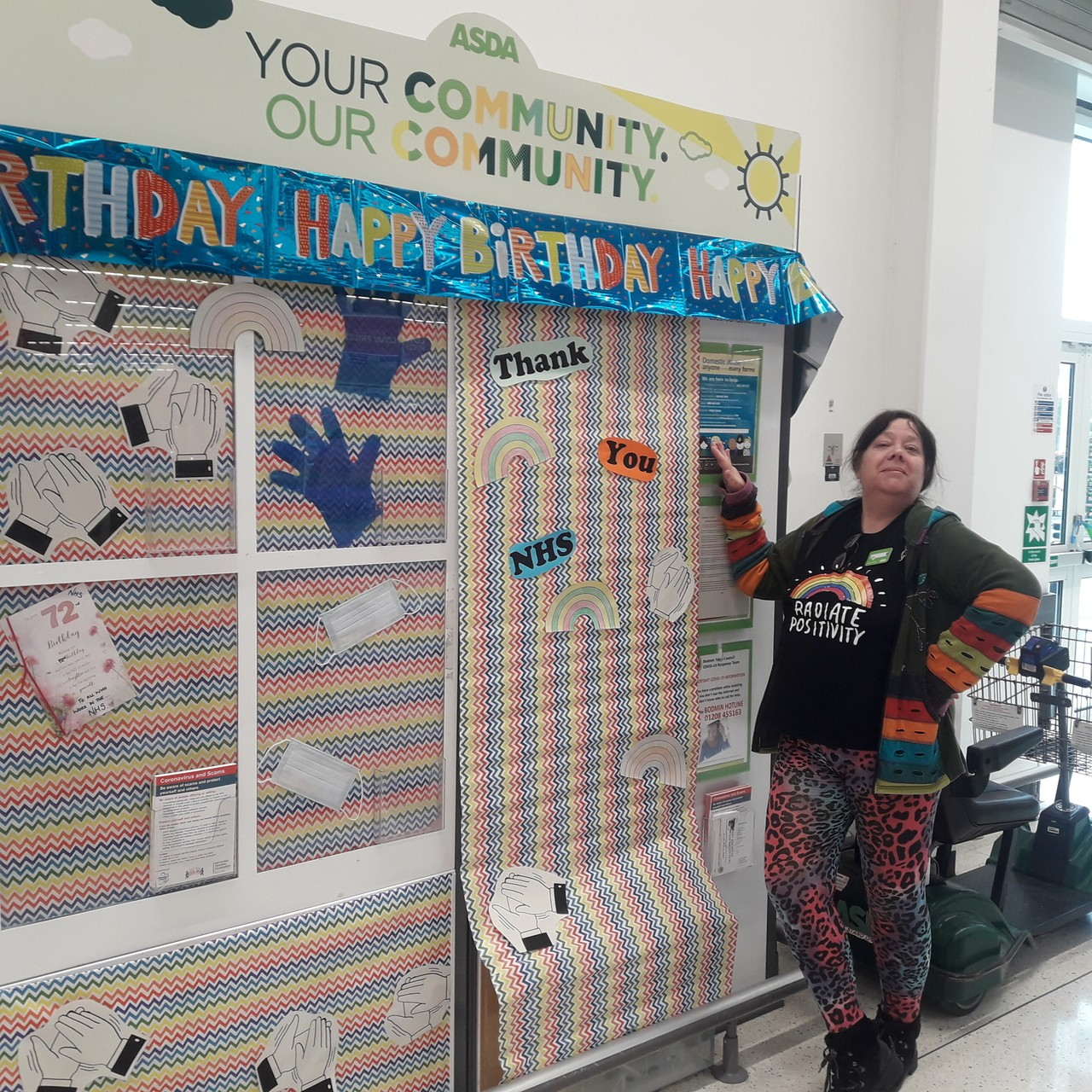 Happy birthday to the NHS | Asda Bodmin