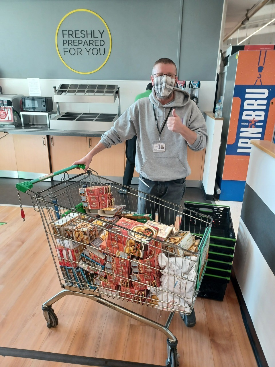 Wdc Food Share picks up grant  | Asda Clydebank