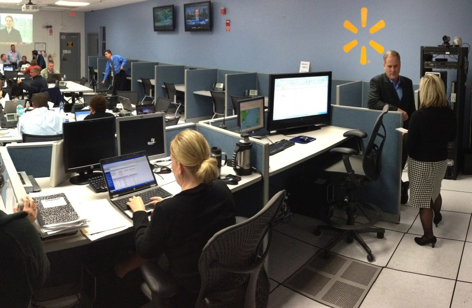 Walmart Emergency Operations Center