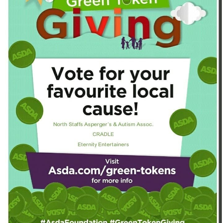Our Digital Green Token Vote is Live, so don't forget to vote for your favourite!   Asda Wolstanton