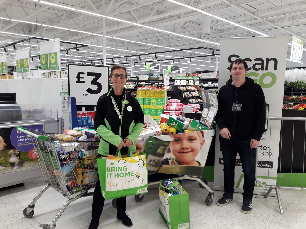 Food Bank collection thanks | Asda Oadby