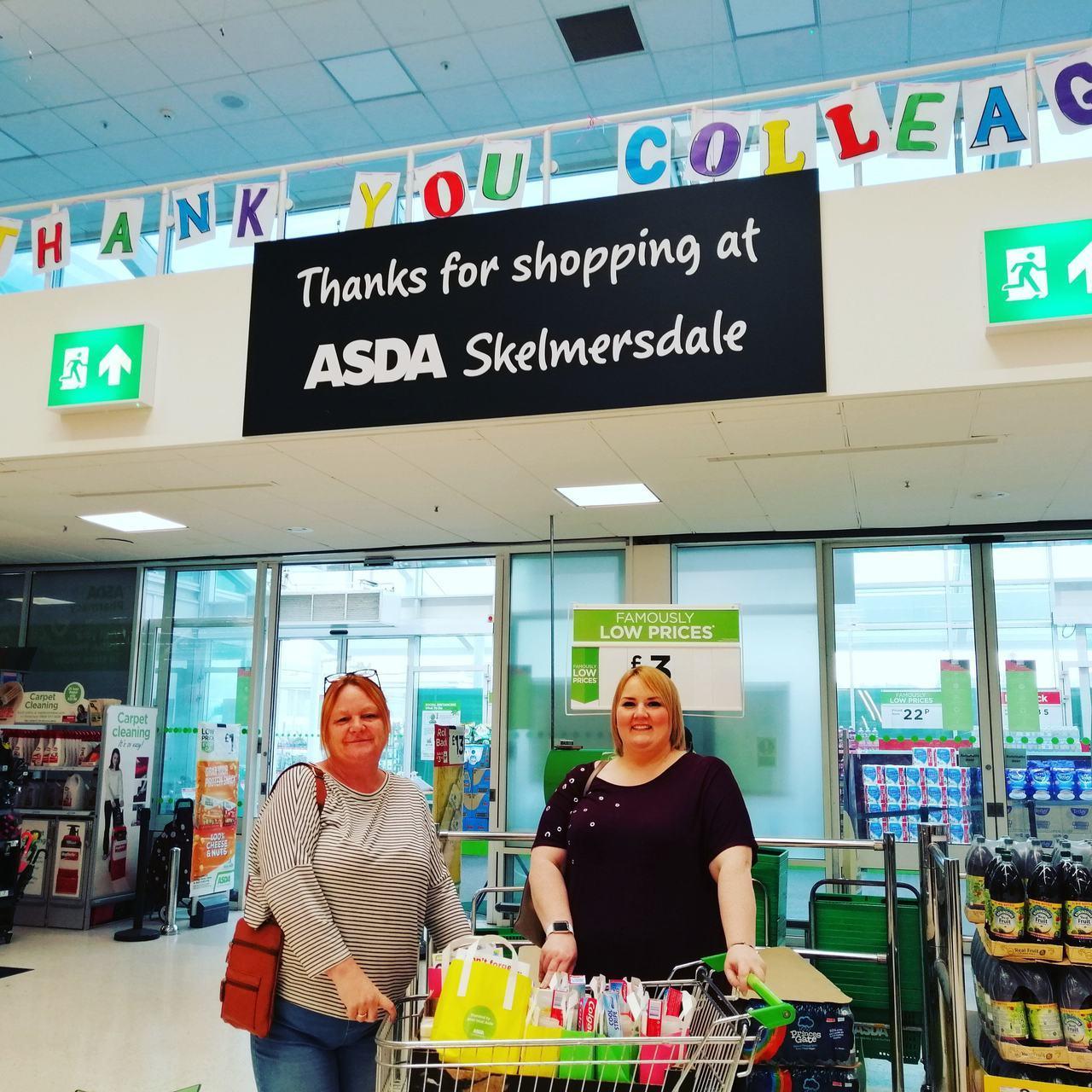 Birchwood Centre donation | Asda Skelmersdale