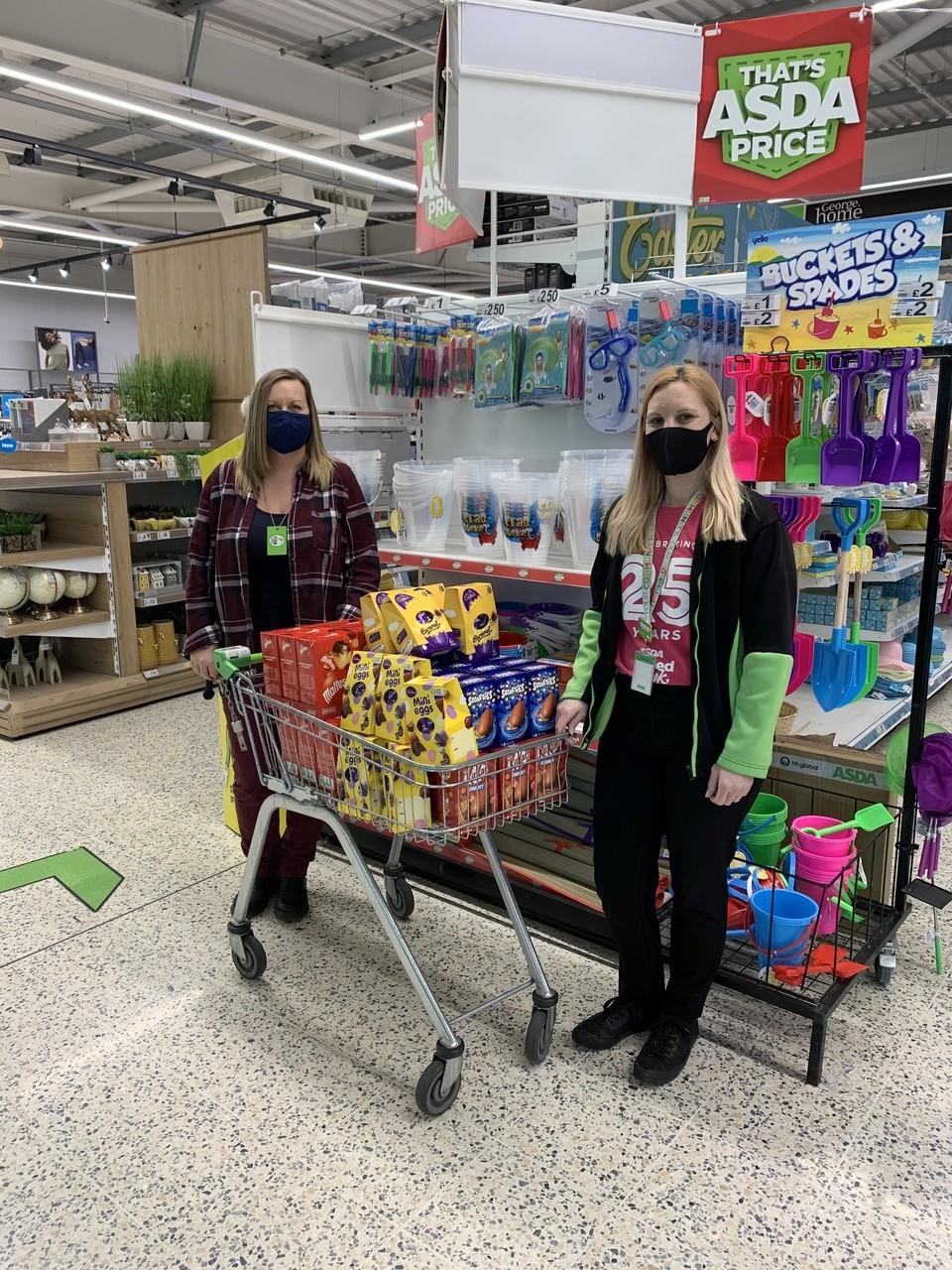 Clacton Foodcycle donation | Asda Clacton-on-Sea