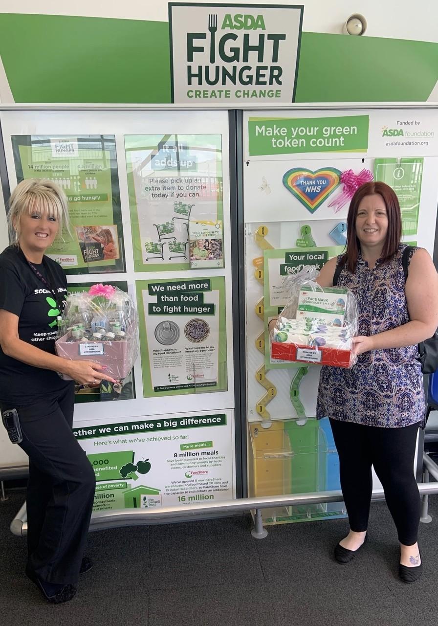 Swale CVS donation | Asda Sittingbourne