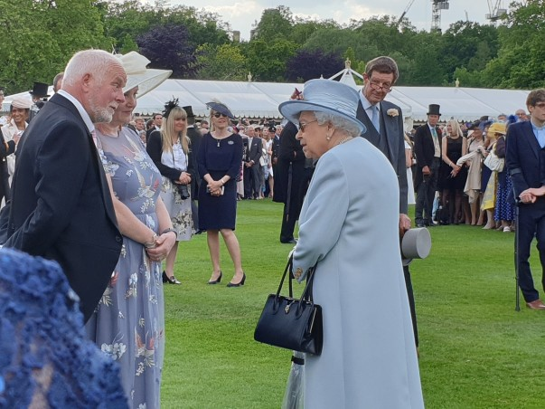June's regal day out at Queen's Garden Party