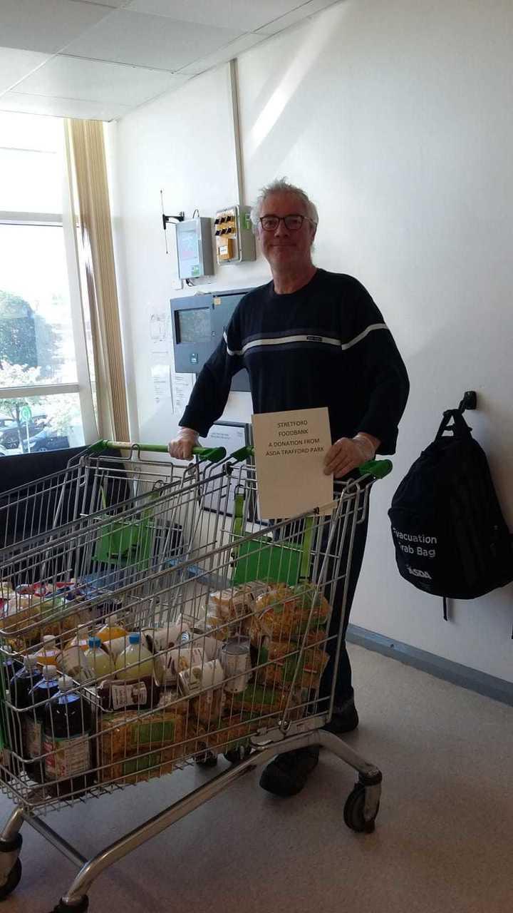 Foodbank donation | Asda Trafford Park