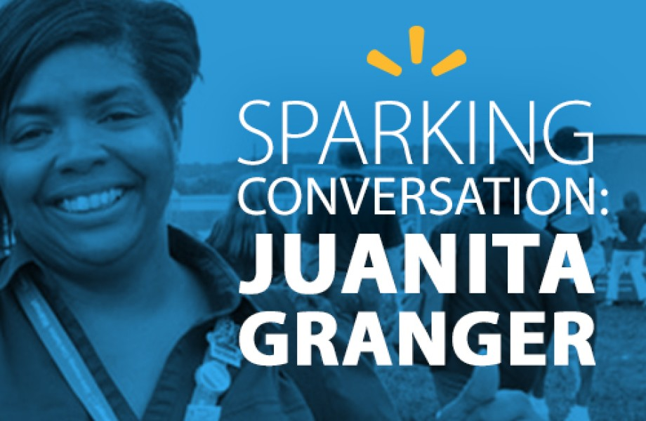 Sparking Conversation - Juanita Granger lead image