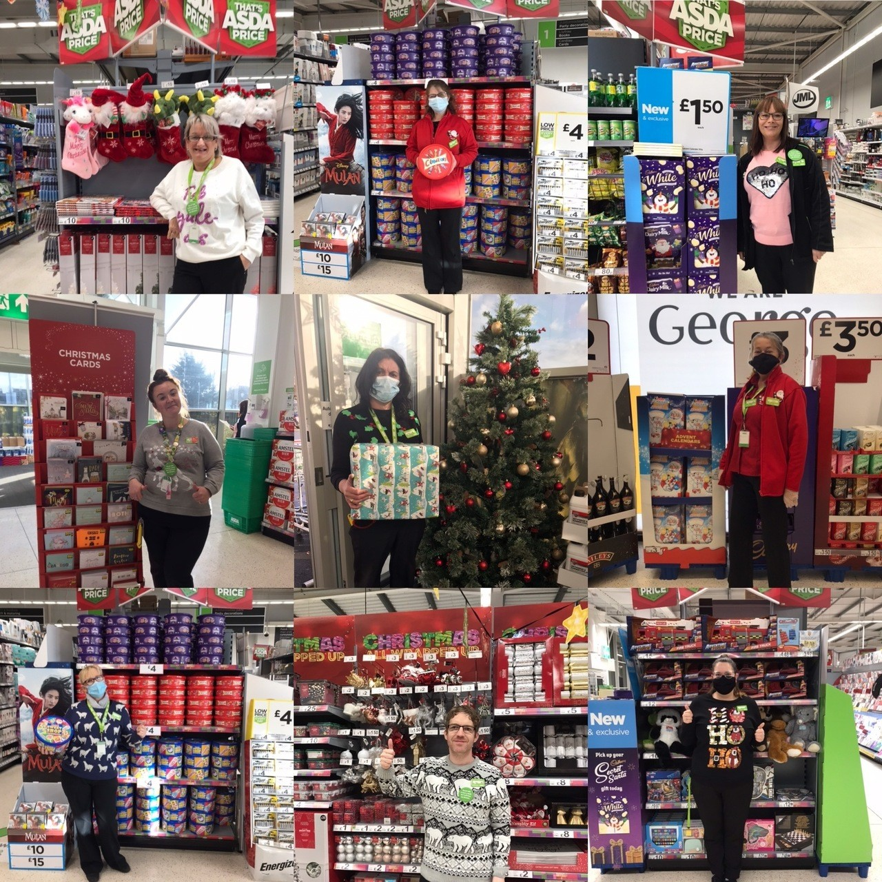 Christmas at Asda Pwllheli  | Asda Pwllheli
