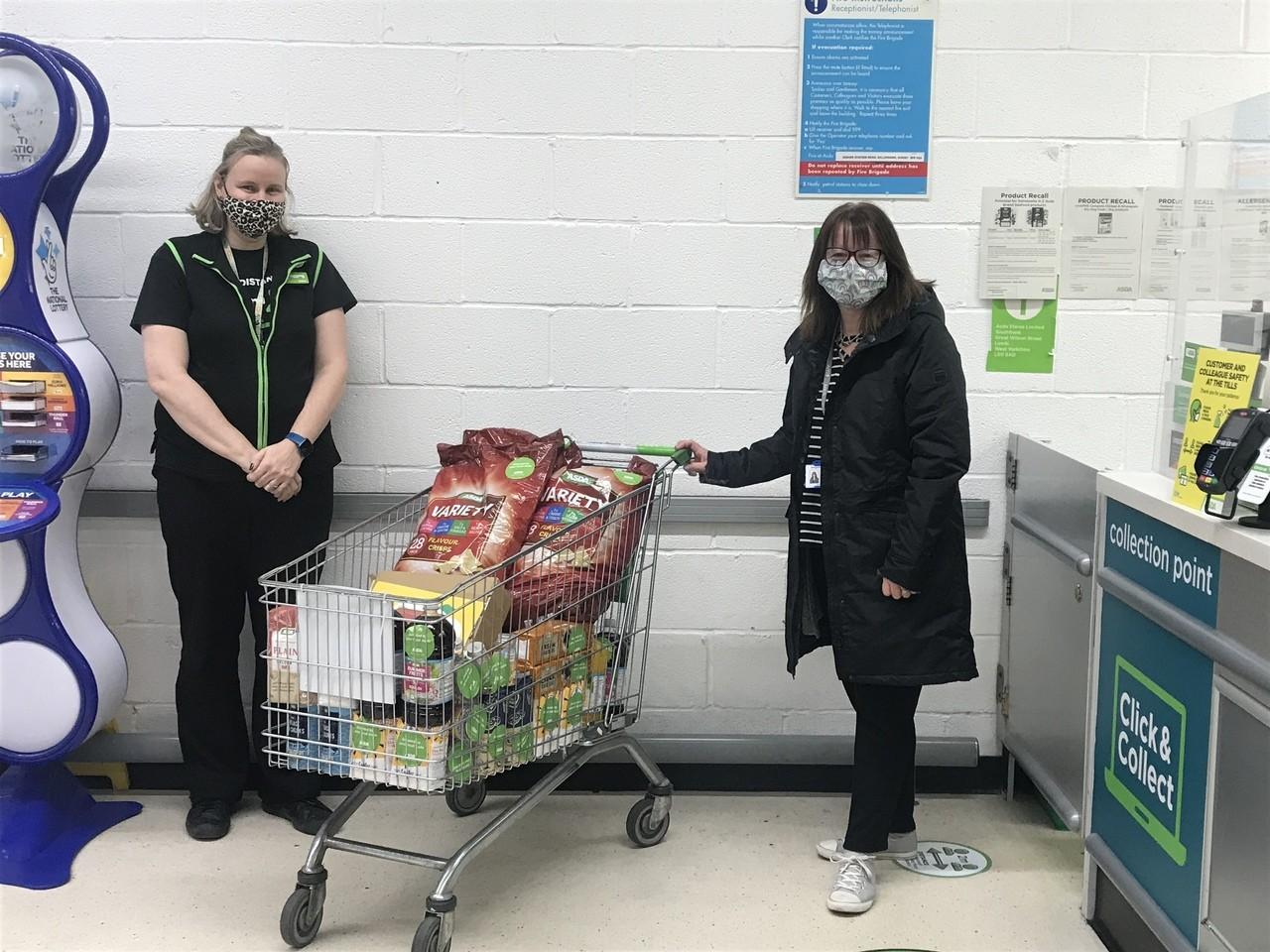 Baking and breakfast club donation for Gillingham Primary School | Asda Gillingham