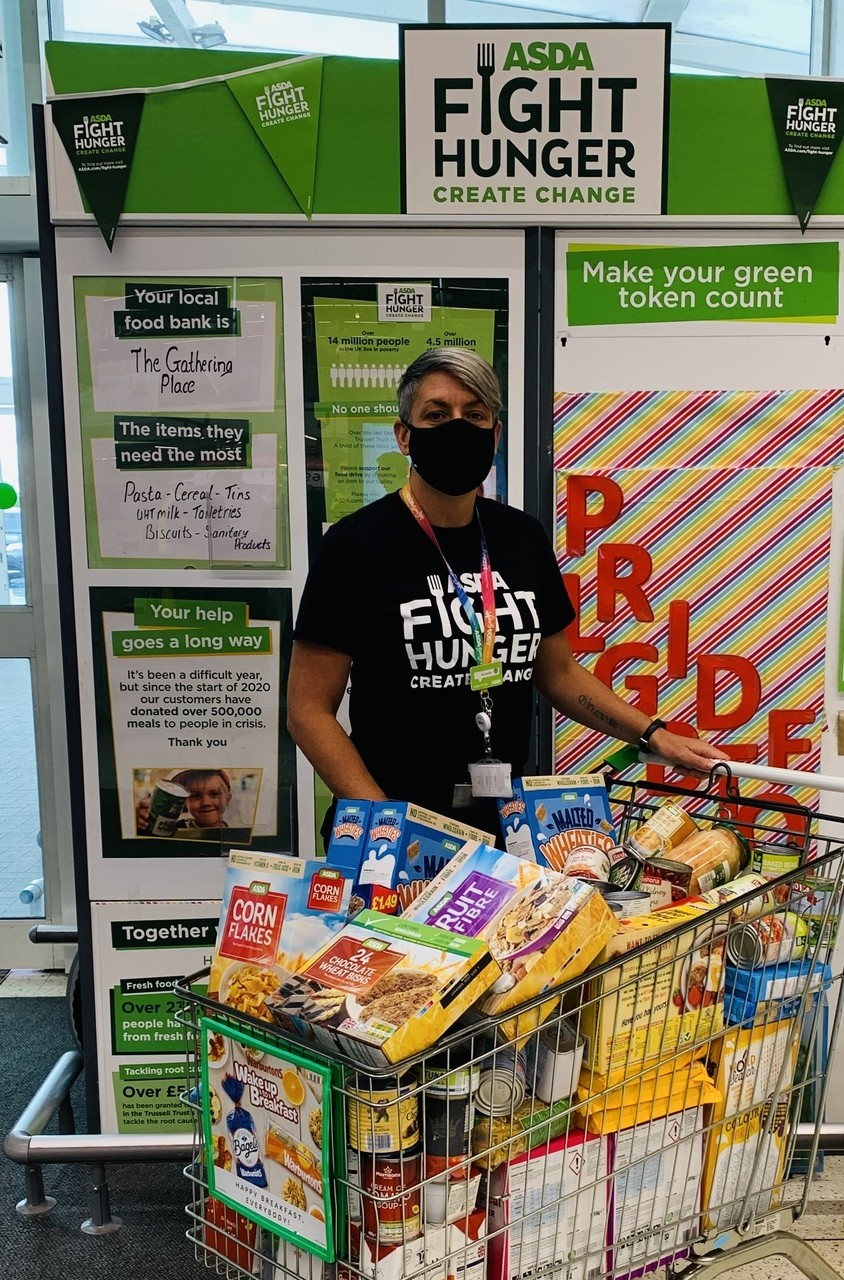 Fight Hunger food bank donations | Asda Halifax