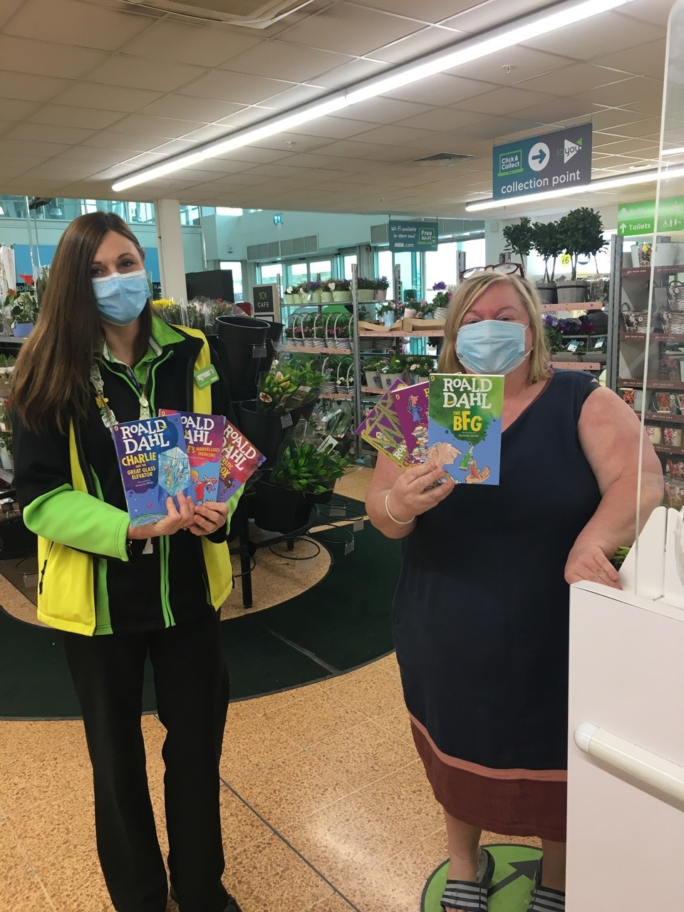 Store donation for World Book Day | Asda Longwell Green