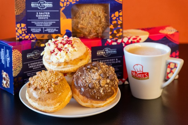 Extra Special American-style donuts launched