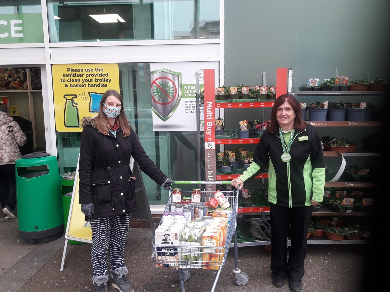 We Are Human donation | Asda Poole