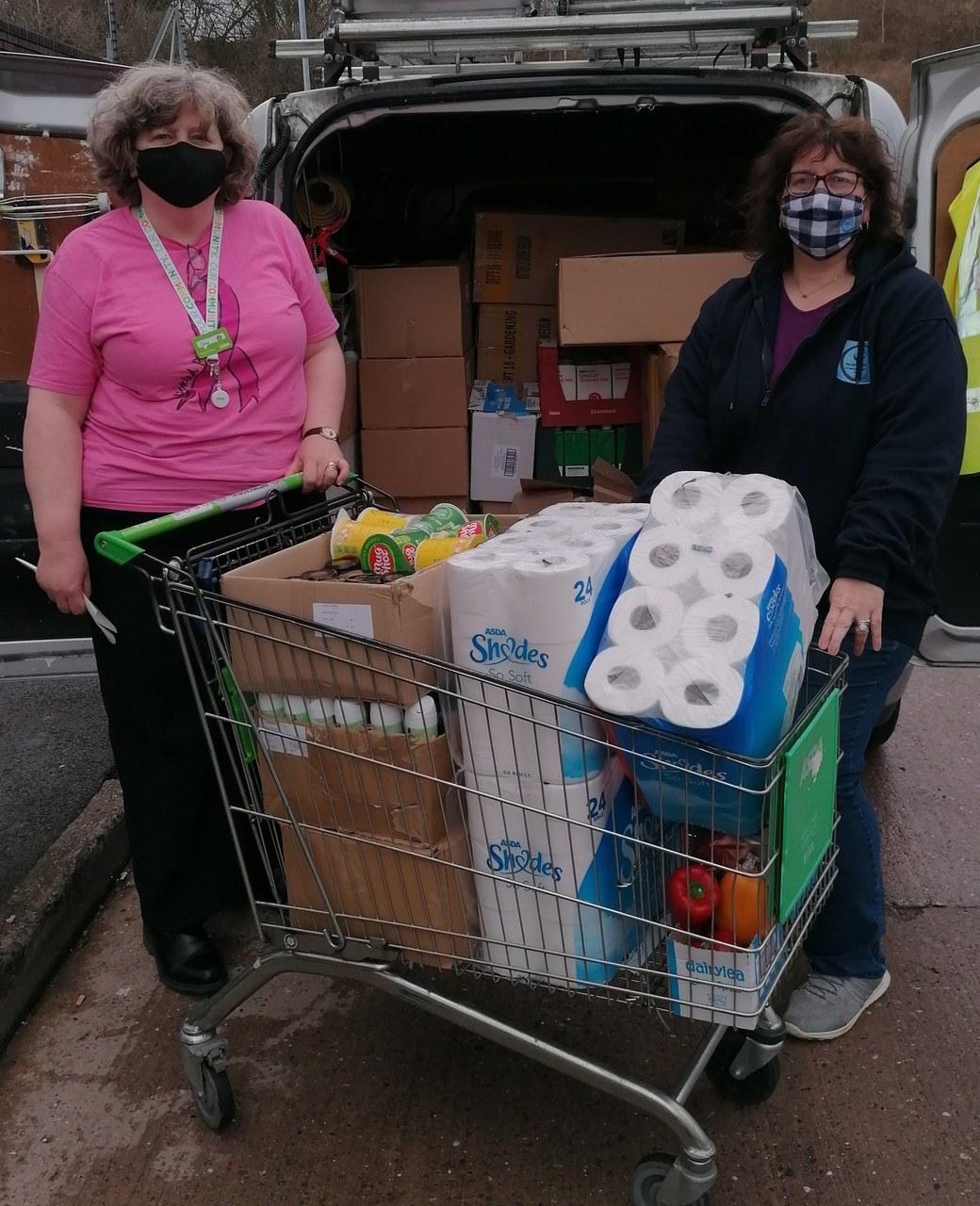 Better Together Foodbank donation | Asda Wolstanton