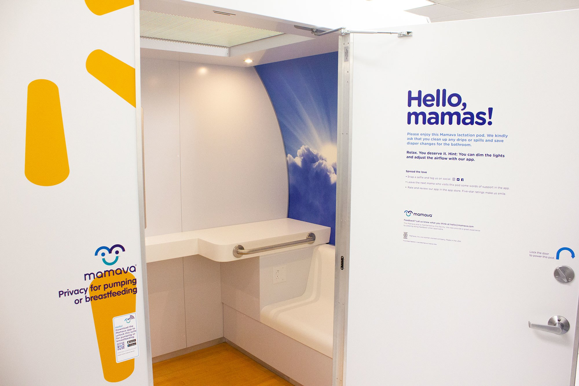 Mamava Lactation Room at Walmart