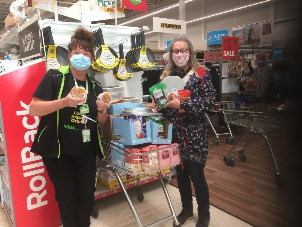 Headway donation | Asda Dundee West