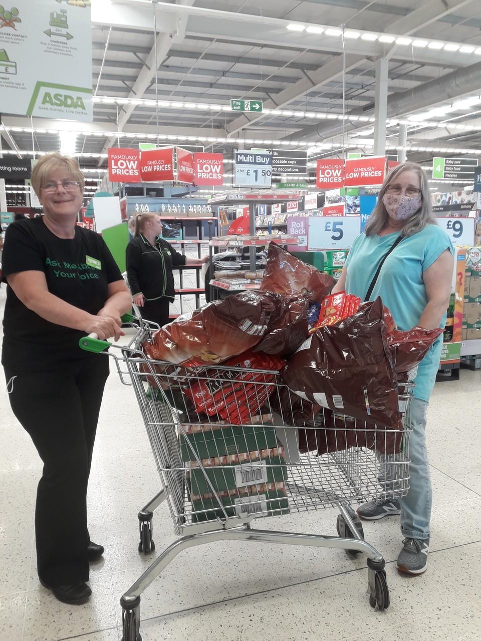 Healthy Holidays donation | Asda South Shields