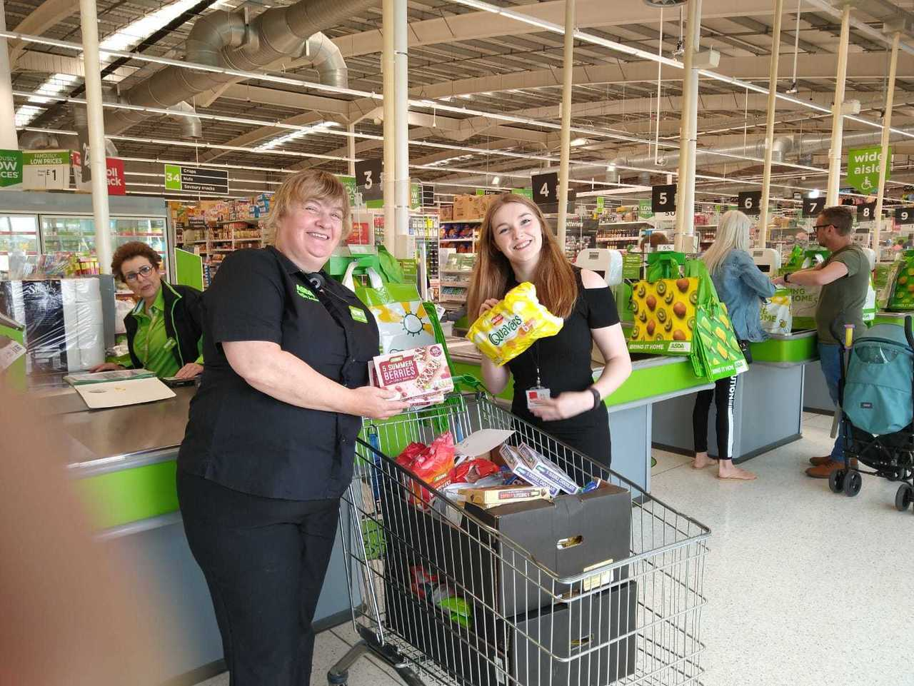 Crisis in Coventry donation | Asda Coventry